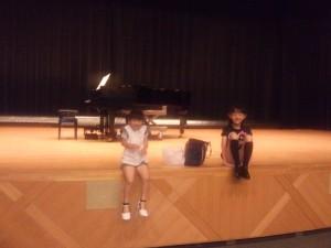 [音楽の便り] コンクール・ホール練習